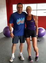 Craig and Carol start the SPFit team